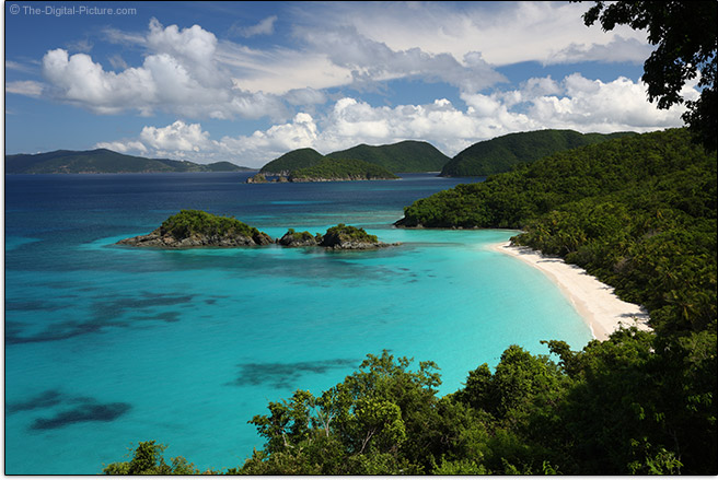 Trunk Bay with Circular Polarizer Filter