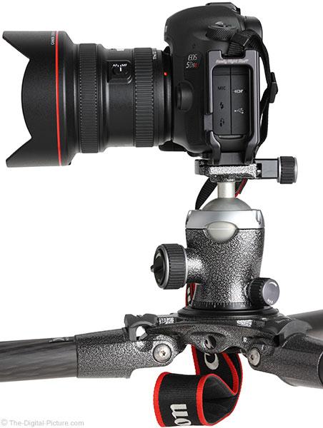 Gitzo GH3382QD with Camera