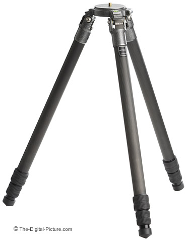 Gitzo GT3530S Tripod Retracted Setup