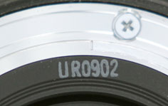 Canon Lens Date Code