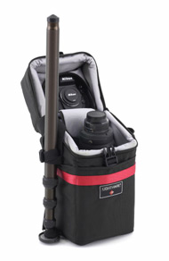 Lightware z300 Case with Monopod and Nikon Equipment