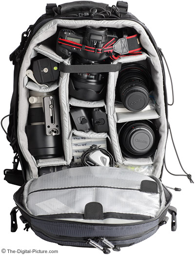 Lowepro Nature Trekker AW II Camera Backpack Loaded with Gear