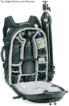 Lowepro Photo Trekker AW II Camera Backpack Stuffed with Gear