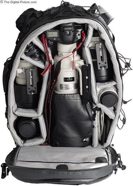 Lowepro Photo Trekker AW II Camera Backpack Loaded with Gear