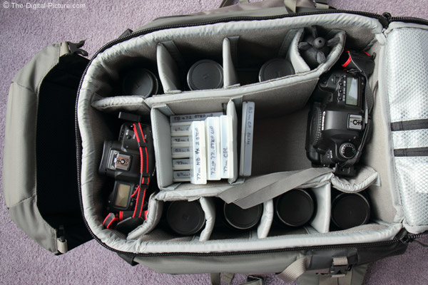 Lowepro Pro Trekker 400 AW Backpack Loaded with Zeiss Lenses