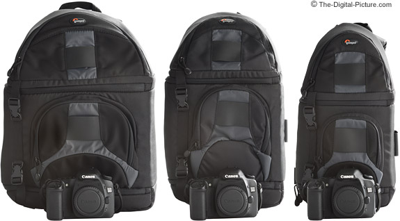 Lowepro Slingshot Camera Case Comparison