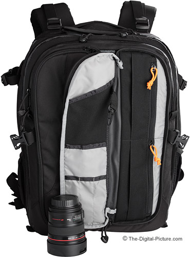 Lowepro Vertex 200 AW Camera Backpack - View B