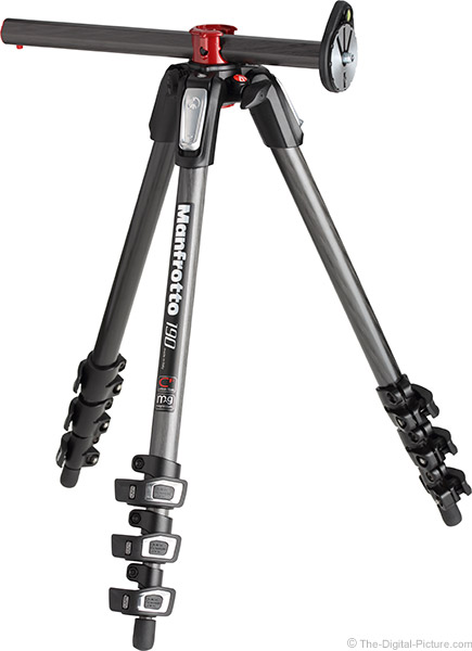 Manfrotto MT190CXPRO4 Tripod with Center Column at 90 Degrees