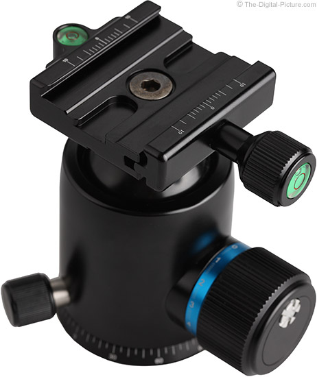 Oben BC-139 Ball Head Quick Release Clamp