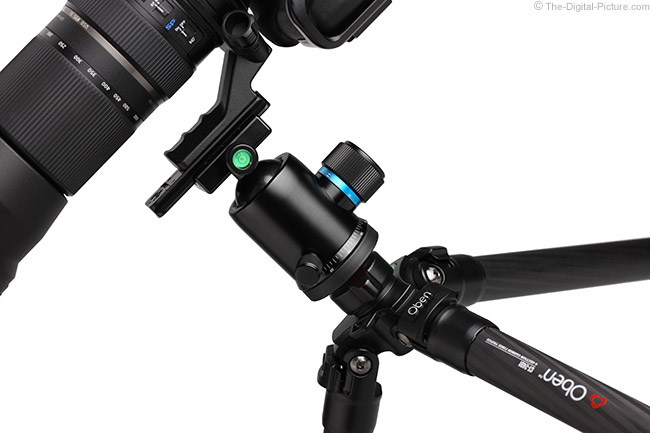 Oben CT-2491 Carbon Fiber Tripod with Ball Head