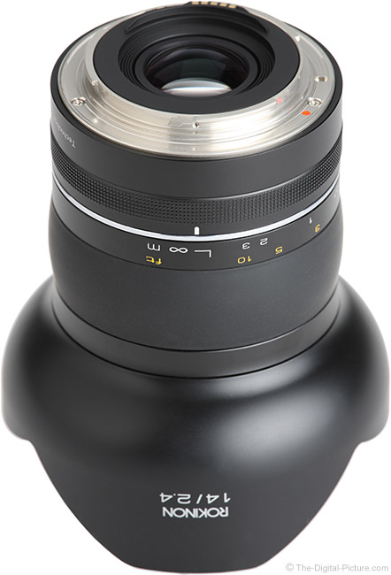 Rokinon SP 14mm f/2.4 Lens Mount