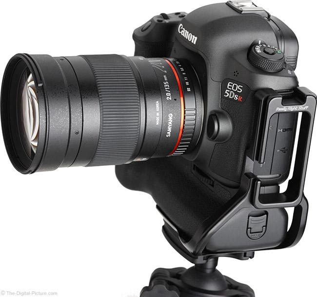 Samyang 135mm f/2 ED UMC Lens Angle View