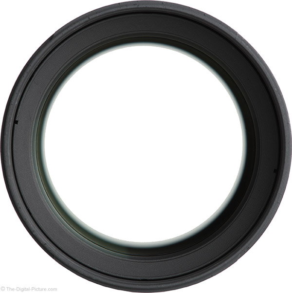 Samyang 135mm f/2 ED UMC Lens Front View