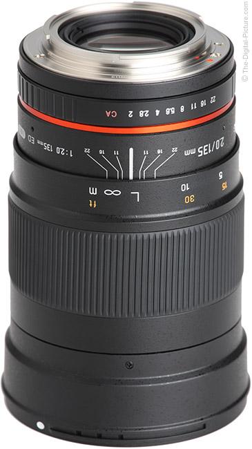 Samyang 135mm f/2 ED UMC Lens Mount