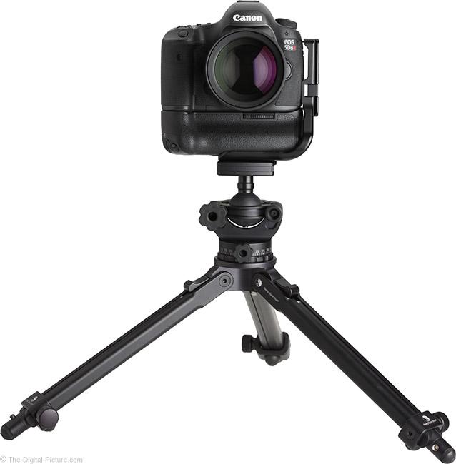Samyang 135mm f/2 ED UMC Lens on Tripod