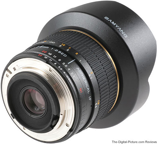 Samyang 14mm f/2.8 IF ED UMC Lens Back