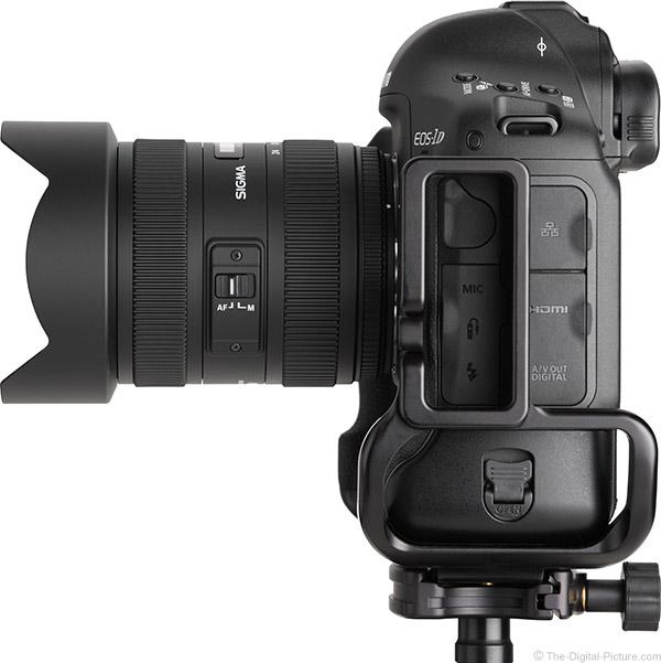 Sigma 12-24mm f/4.5-5.6 DG II HSM Lens Side View