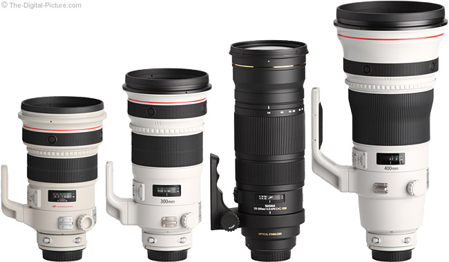Sigma 120-300mm f/2.8 EX DG OS HSM Lens Compared to Similar Lenses