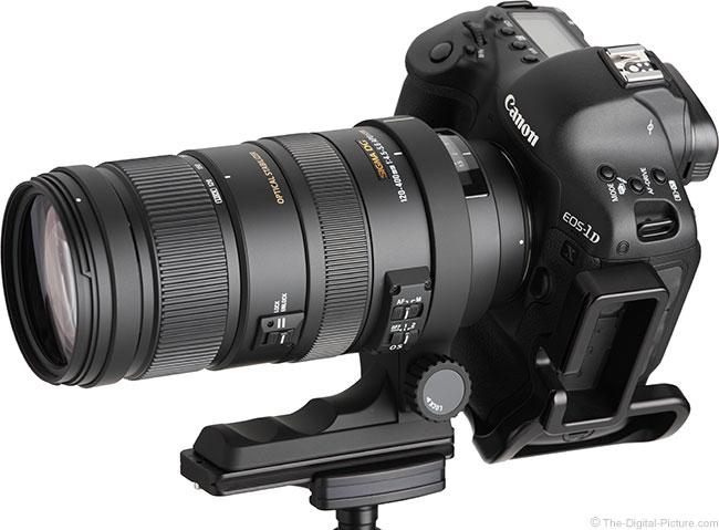 Sigma 120-400mm f/4.5-5.6 DG OS HSM Lens Image Quality