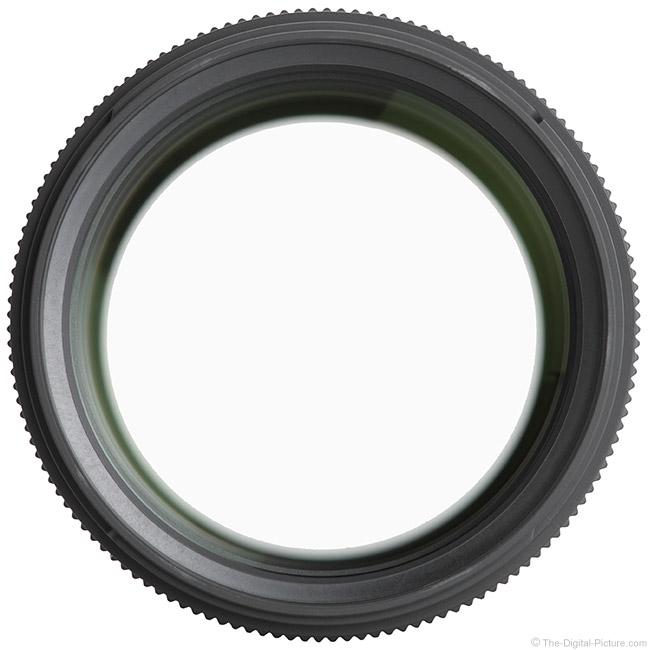 Sigma 135mm f/1.8 DG HSM Art Lens Front View