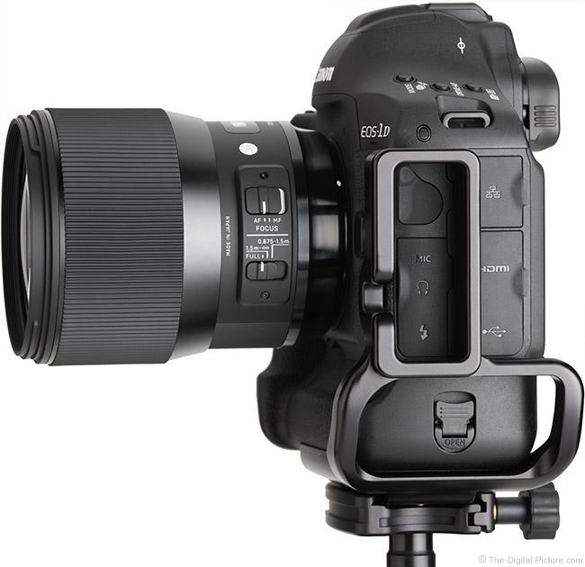 Sigma 135mm f/1.8 DG HSM Art Lens Side View