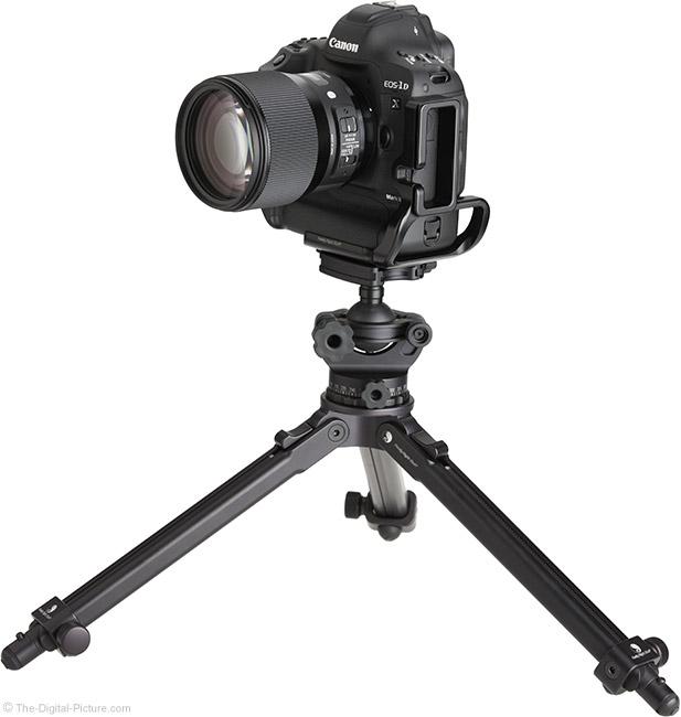 Sigma 135mm f/1.8 DG HSM Art Lens on Tripod
