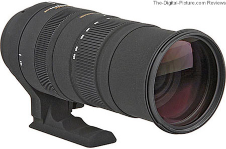 Sigma 150-500mm f/5-6.3 DG OS HSM Lens Back View
