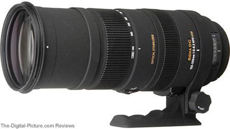 Sigma 150-500mm f/5-6.3 DG OS HSM Lens