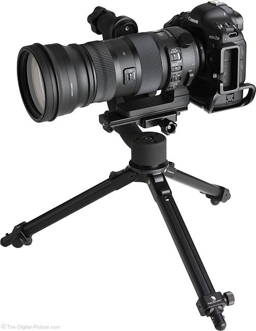 Sigma 150-600mm OS Sports Lens on Tripod