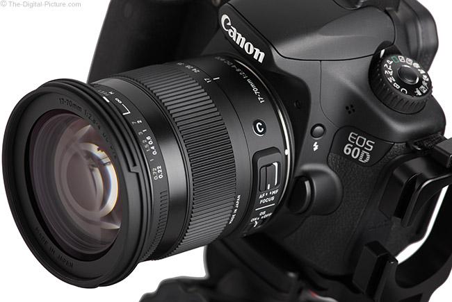 Sigma 17-70mm f/2.8-4 DC Macro OS C Lens Angle View