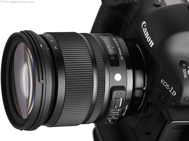 Sigma 24-105mm f/4.0 DG OS HSM Art Lens Close-up
