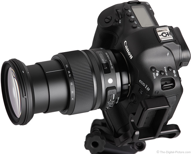 Sigma 24-105mm f/4.0 DG OS HSM Art Lens Extended