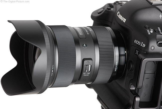 Just Posted: Sigma 24-35mm f/2 DG HSM Art Lens Review