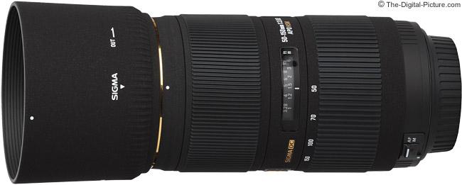 Sigma 50-150mm f/2.8 II EX DC HSM Lens Product Image