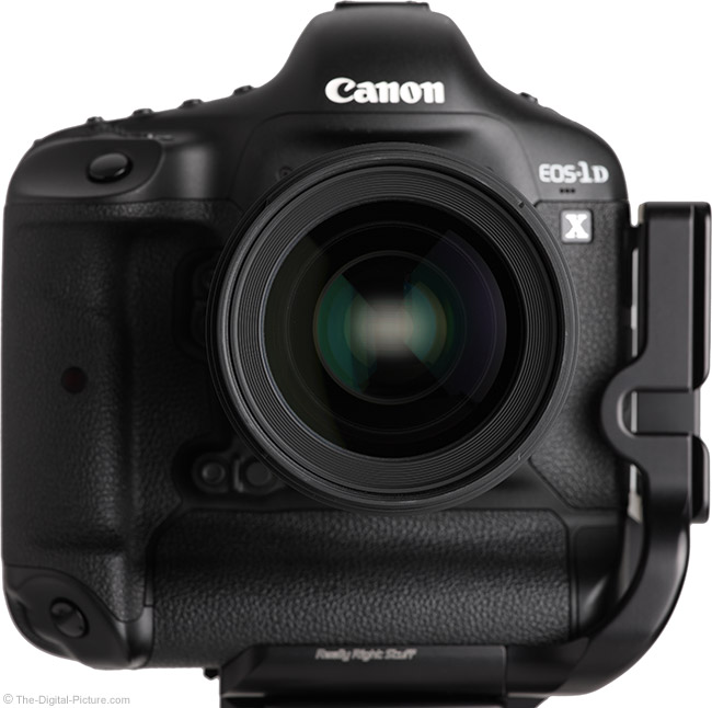 Sigma 50mm f/1.4 DG HSM Art Lens on Canon EOS 1D X – Front View