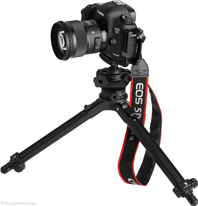 Sigma 50mm f/1.4 DG HSM Art Lens on Tripod