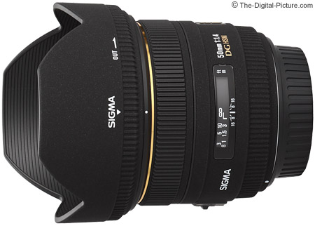 Sigma 50mm f/1.4 EX DG HSM Lens Product Images