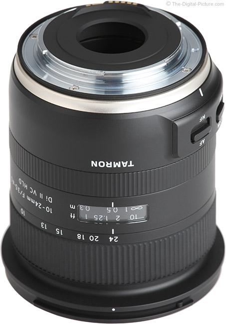 Tamron 10-24mm f/3.5-4.5 Di II VC HLD Lens Mount