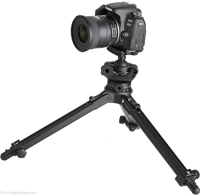 Tamron 10-24mm f/3.5-4.5 Di II VC HLD Lens on Tripod