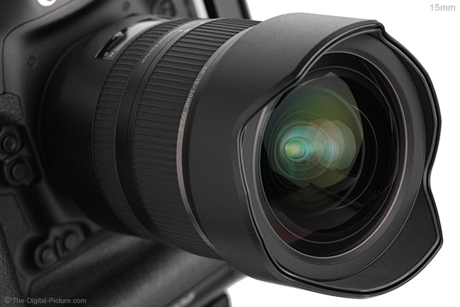 Tamron 15-30mm f/2.8 VC Lens Extension Example