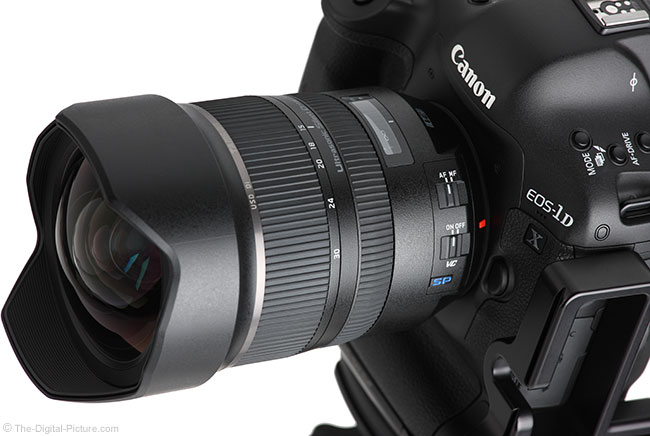 Tamron 15-30mm f/2.8 VC Lens Angle View