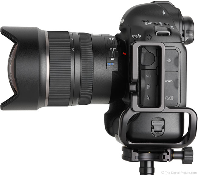Tamron 15-30mm f/2.8 VC Lens Side View