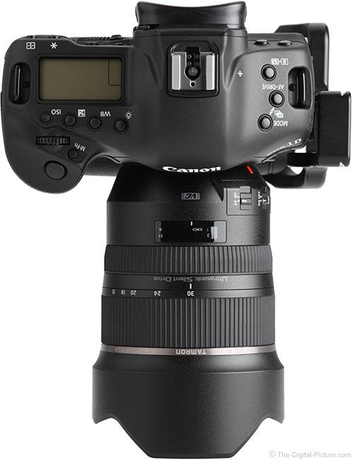 Tamron 15-30mm f/2.8 VC Lens Top View