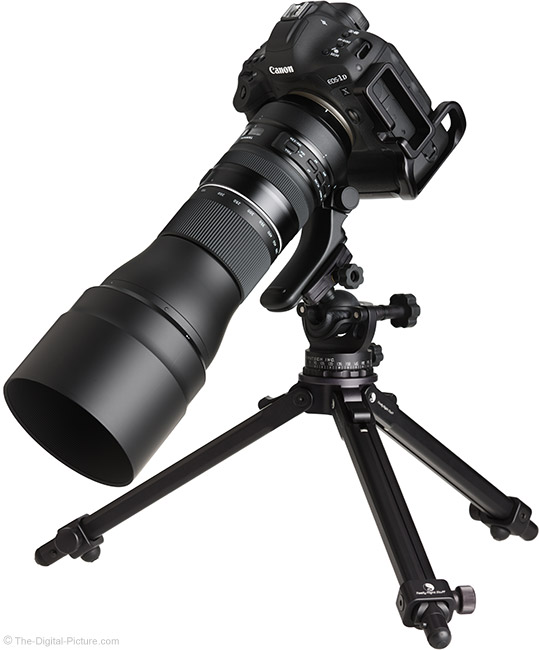 Standardized Test Results for the Tamron 150-600mm VC USD G2 Lens