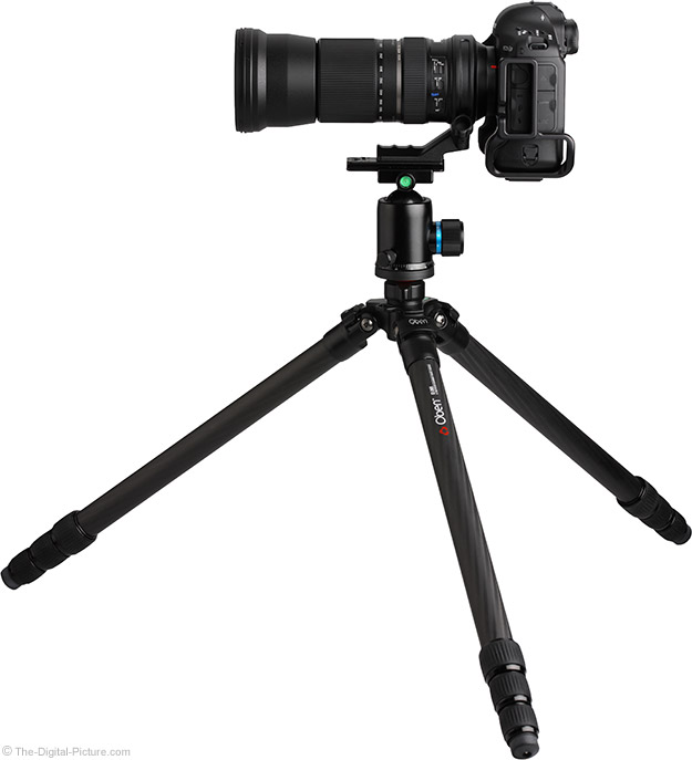 Just Posted: Oben CT-2491 Carbon Fiber Tripod Review
