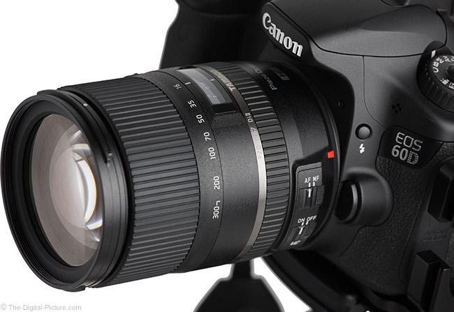 Tamron 16-300mm f/3.5-6.3 Di II VC PZD Lens Angle View