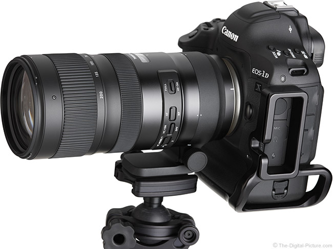 Tamron 70-200mm f/2.8 Di VC USD G2 Lens Angle View