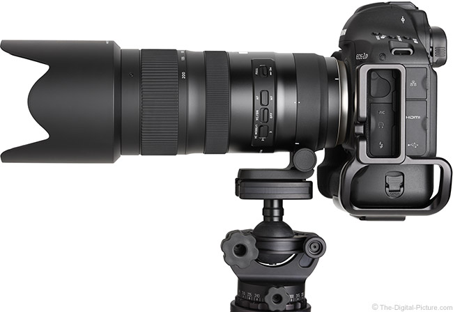 Tamron 70-200mm f/2.8 Di VC USD G2 Lens Side View