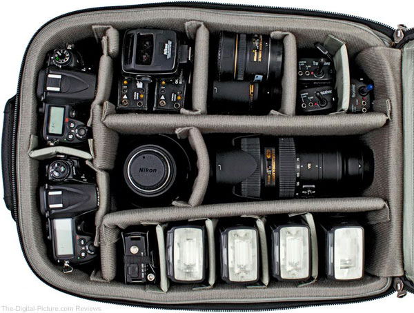 Think Tank Photo Airport Security V 2.0 - Open with Nikon Gear