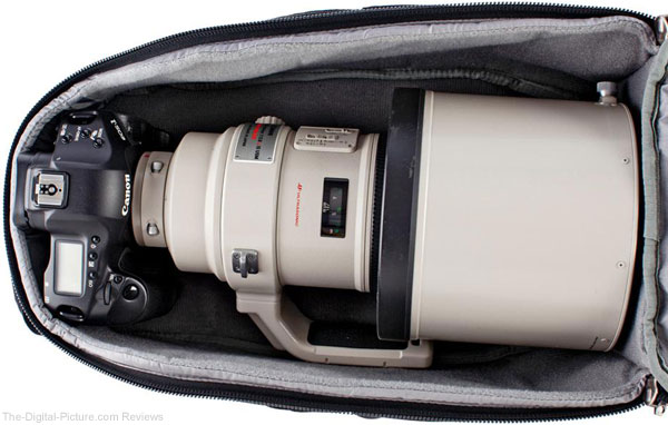 Think Tank Photo StreetWalker Pro with 400mm f/2.8 Lens and Pro Body
